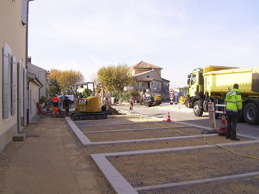 travaux centre village novembre 2017