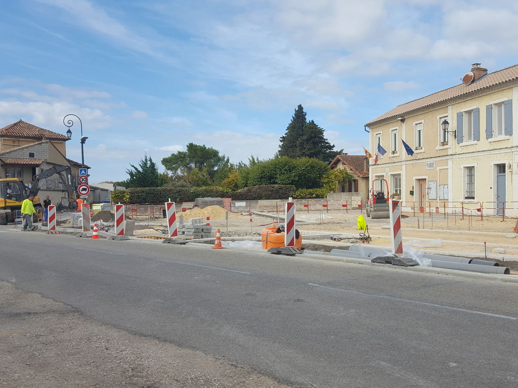 travaux centre village octobre 2017 1
